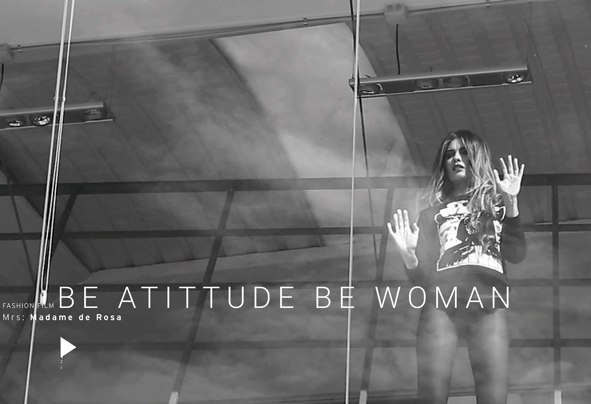 Be Atittude be Woman